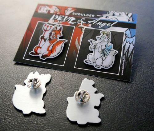 Pin Set - Shoulder Angels