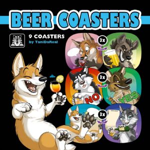 Beer Coaster Set (2018)