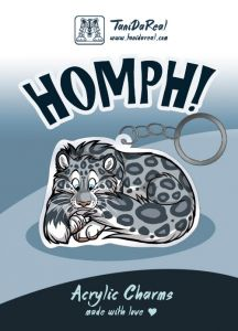 Acrylic Charms - HOMPH! (various species)