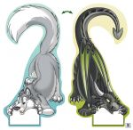 (Door) Hanger - Husky/Dragon (double-sided)