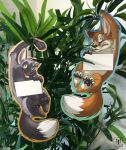 (Door) Hanger - Red Fox/Silver Fox (double-sided)