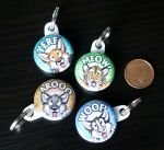Key Chain Buttons - different designs