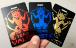 Pokemon Tag / Badge - Team Instinct
