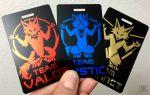 Pokemon Tag / Badge - Team Valor