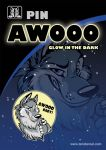 Wolf Pin - AWOOO