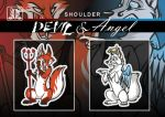 Pin Set - Shoulder Angels
