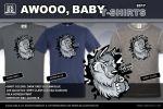 AWOOO Baby - Grey Clash