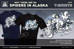 Spiders in Alaska T-Shirt - Black