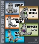 MOOD BADGES SET - Critters / Rodents / Mustelids