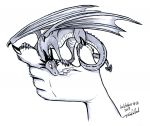 Inktober Artwork #12 - Dragon